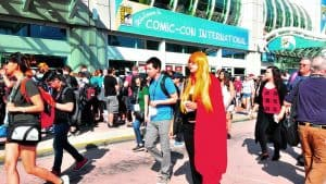 Fans Throng for Day 2 of Comicon